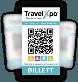 Inngang på TravelXpo